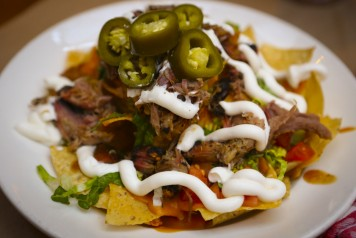 Delicious Hendricks' BBQ Nachos