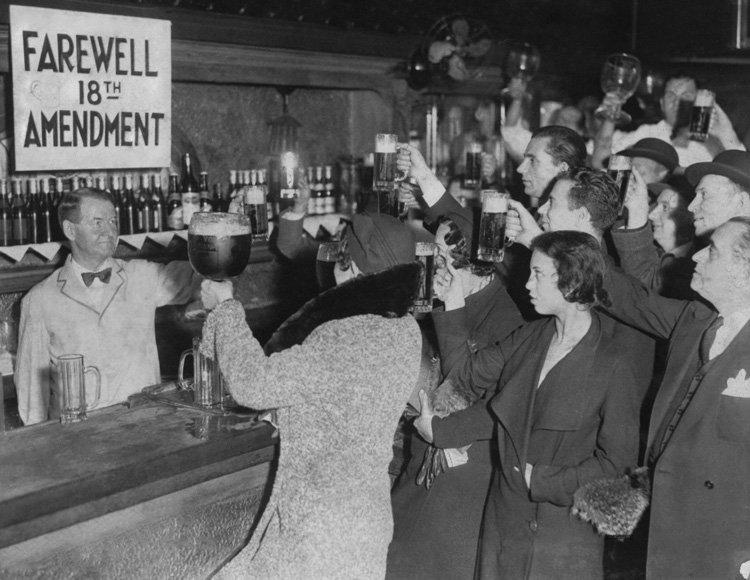 Farewell to the 18th Amendment